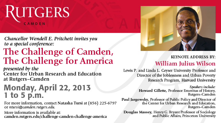 challenge of camden conference flyer