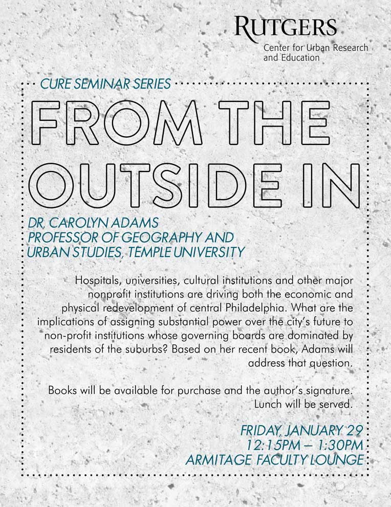 Cure Seminar January 29th Poster