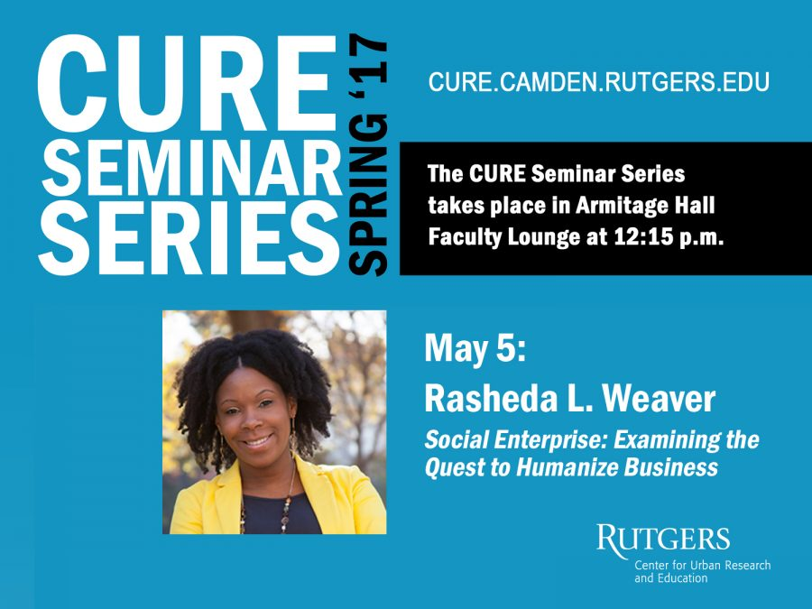 Flyer for the May 5th CURE Seminar