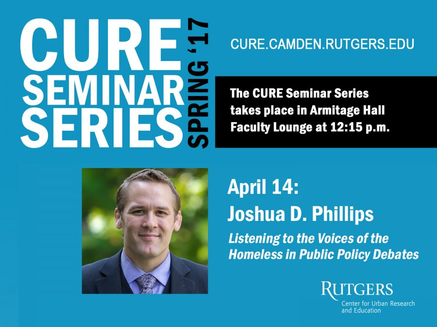 Joshua Phillips CURE flyer image