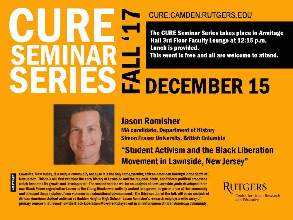 Jason Romisher - December 15 flyer