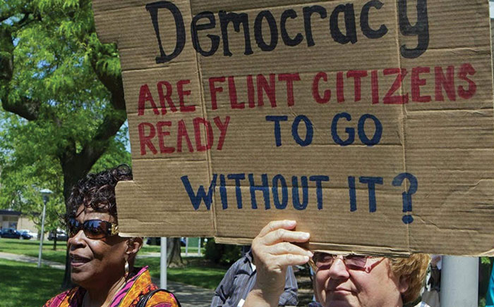 Cover image to Power Participation and Protest in Flint Michigan